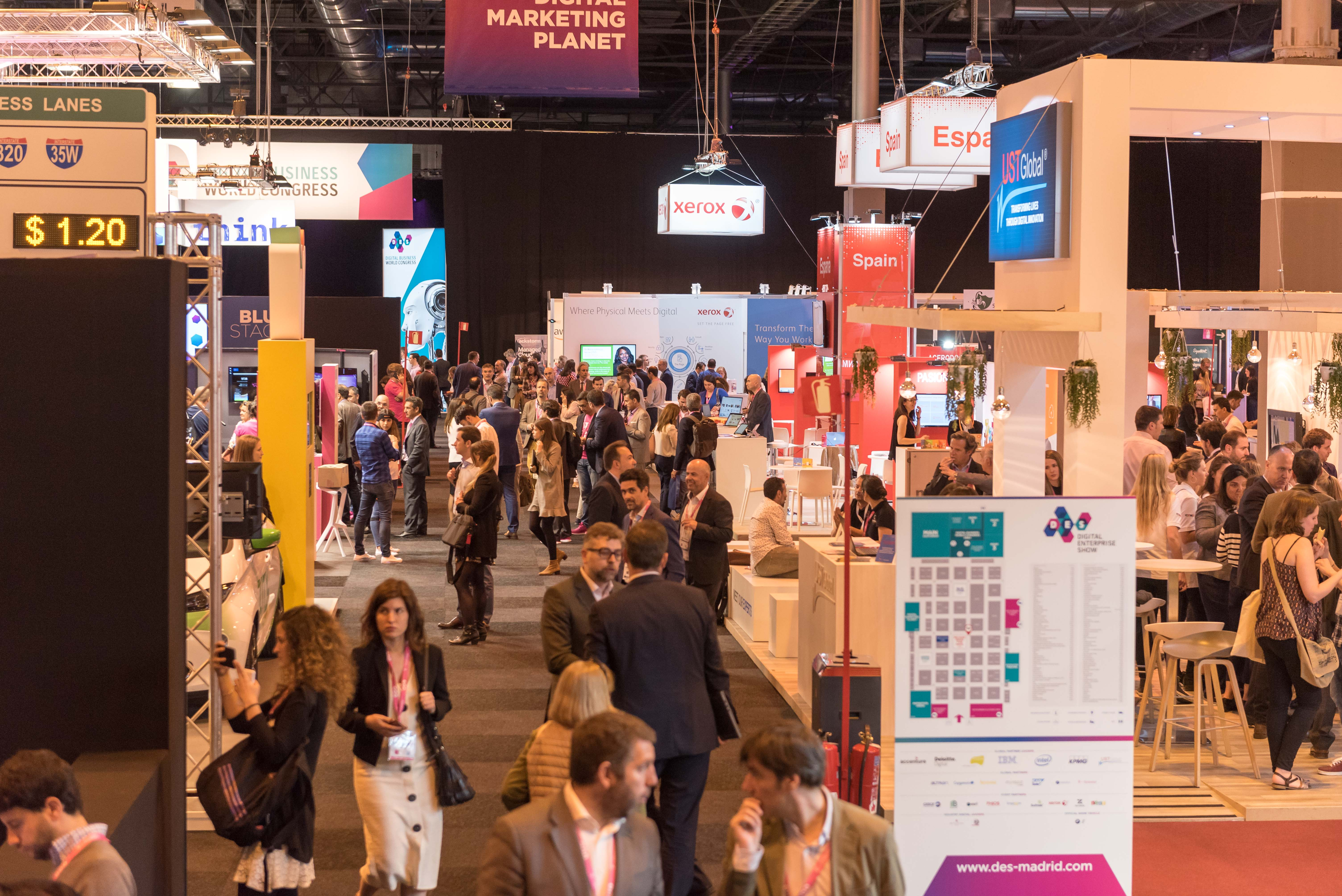 Large companies boost startups innovation in the Innovation Hub forum in DES2019