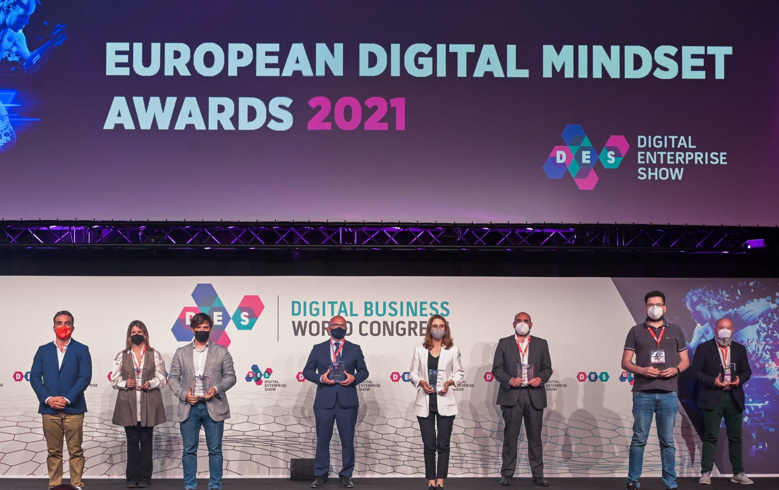 Correos, la Universidad San Pablo CEU y la Diputación de Ourense, entre los premiados de los European Digital Mindset Awards 2021