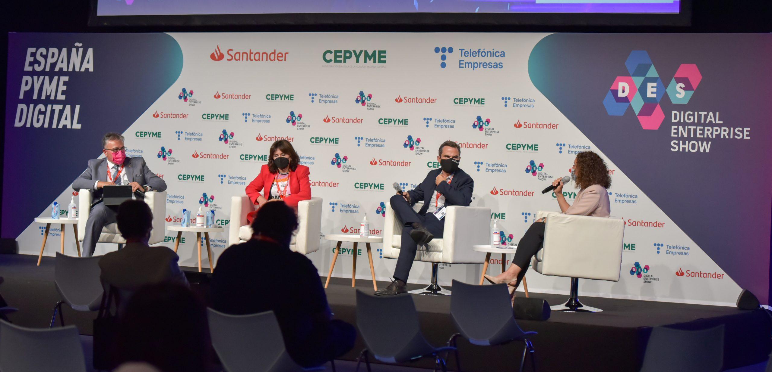 Los gobiernos de Madrid, Navarra y Galicia presentan sus planes de digitalización en DES2021