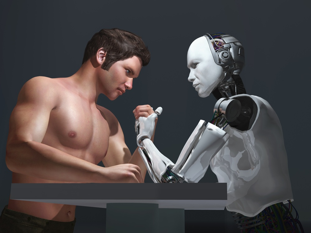Can robots replace humans?