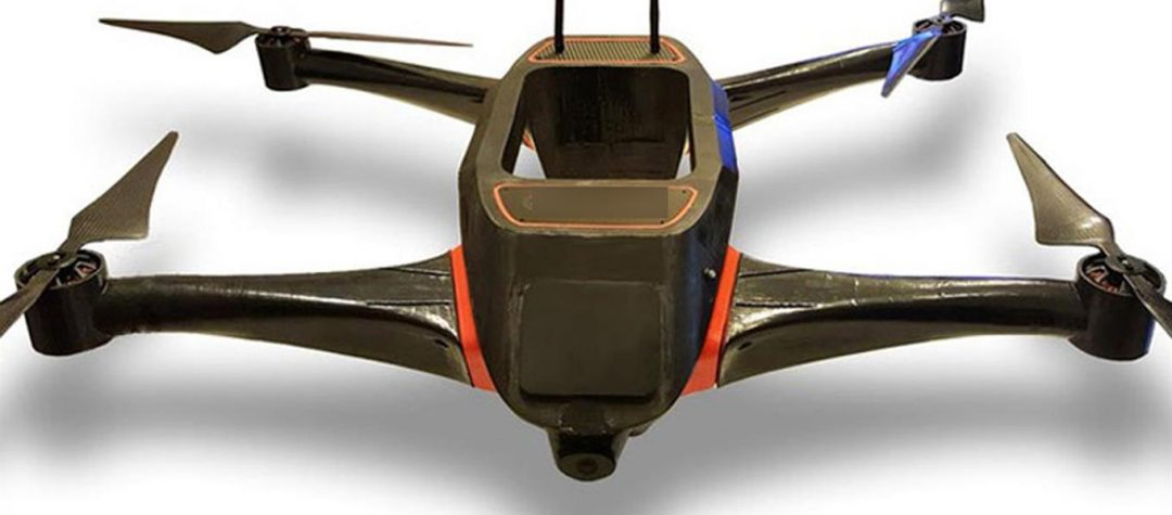 UELA: The ecological drone that studies the environment